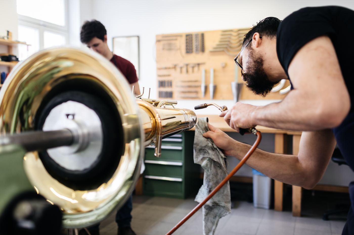 Tuba Werkstatt Vogt instruments