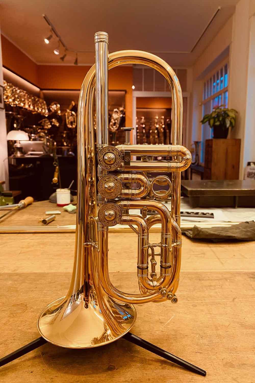 Kompakttrompete Neubau Vogt instruments Leipzig
