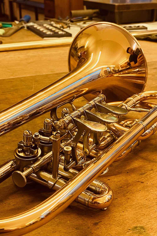 Kompakttrompete Vogt instruments Leipzig